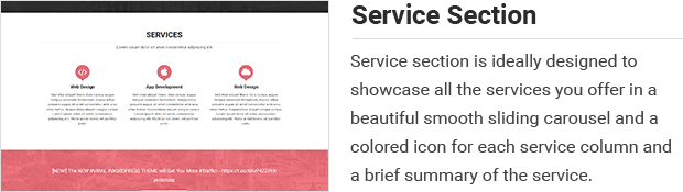 Service Section