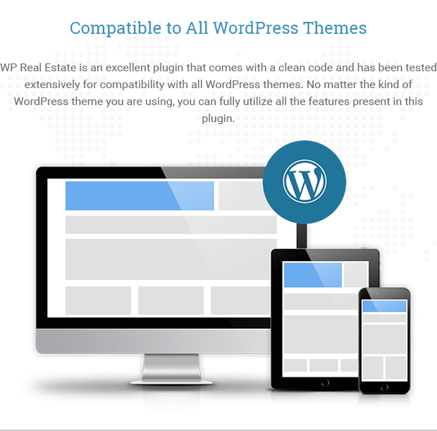 Compatible to All WordPress Themes