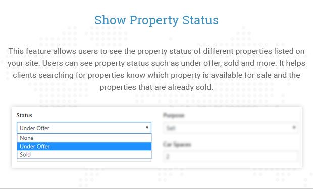 Show Property Status