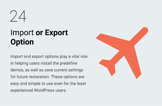Import or Export Option