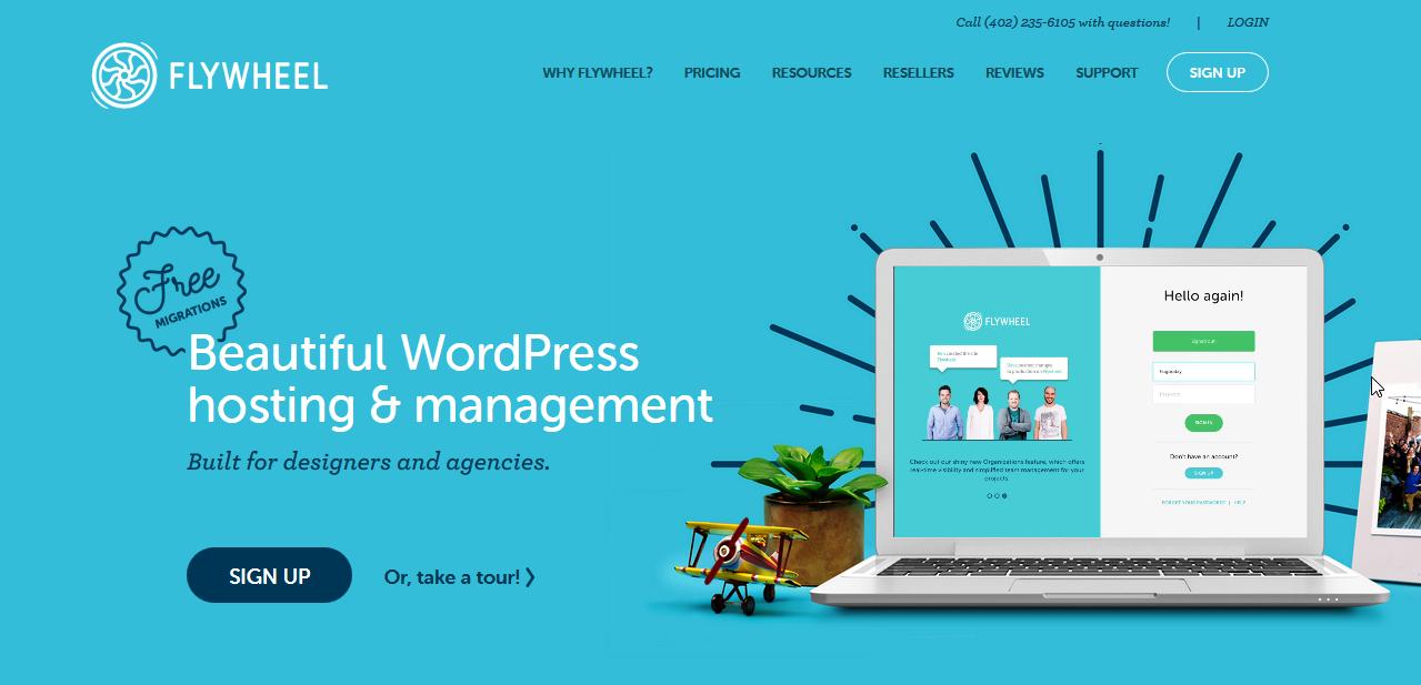 FlyWheel Web hosting