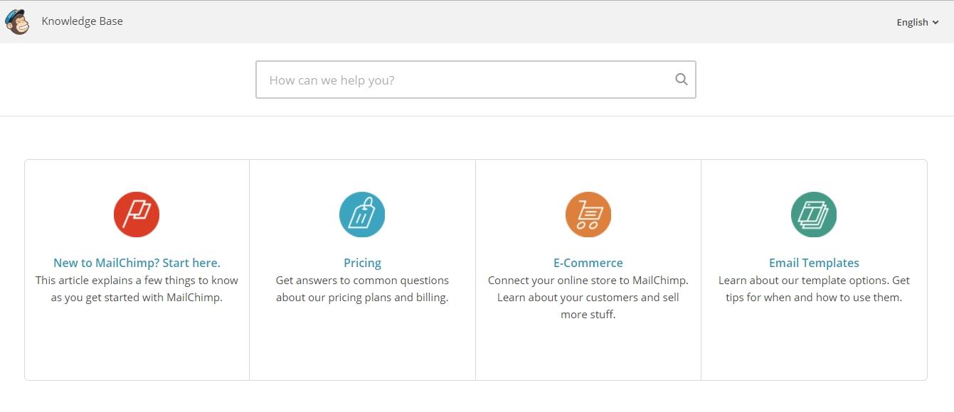 MailChimp-Support