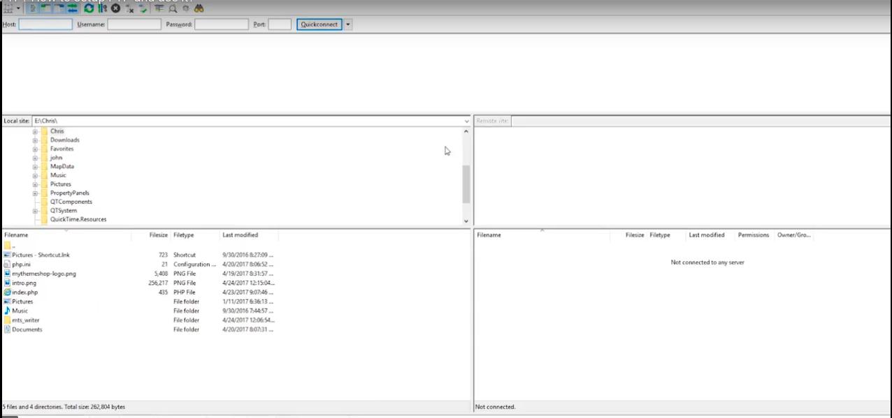 Setting-Up-FTP - FileZilla2