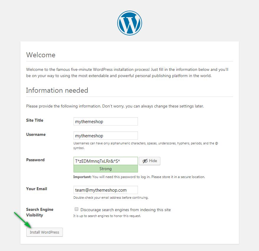 wordpress-final-confirmation