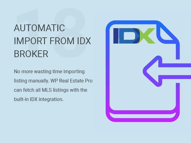 Automatic Import from IDX Broker