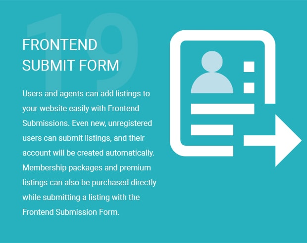 Frontend Submit Form