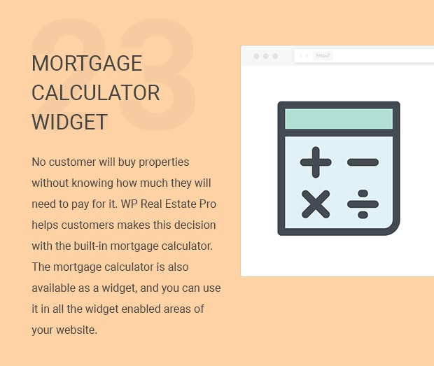 Mortgage Calculator Widget