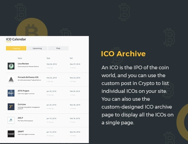 ICO Archive