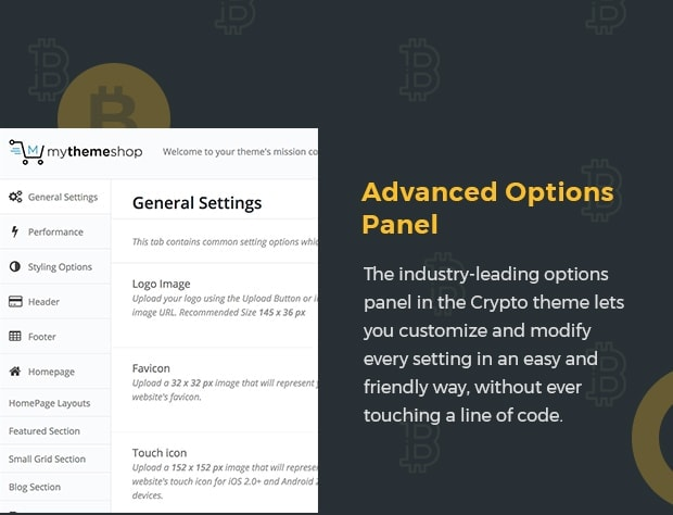 Advanced Options Panel