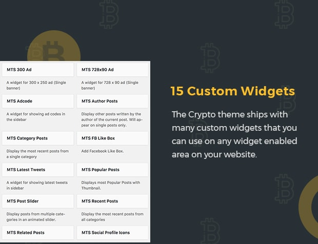15 Custom Widgets