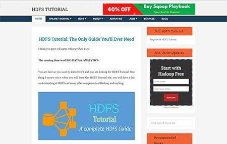 HDFS Tutorial