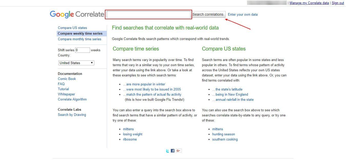 google corelate