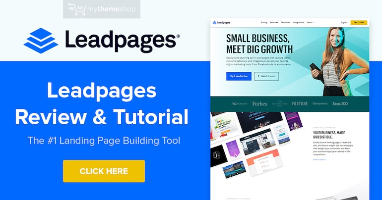 25% Off Leadpages June 2020