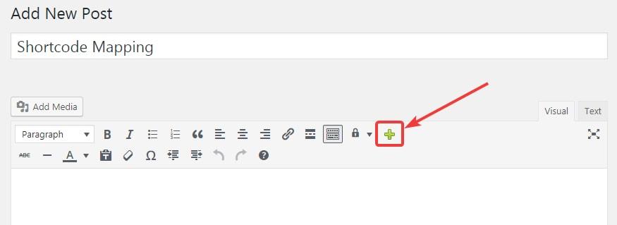 wp shortcode menu trigger