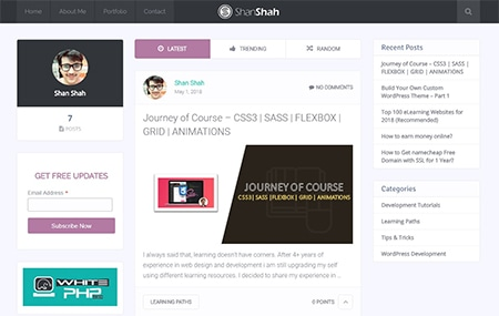Shan Shah – A Full Stack Developer