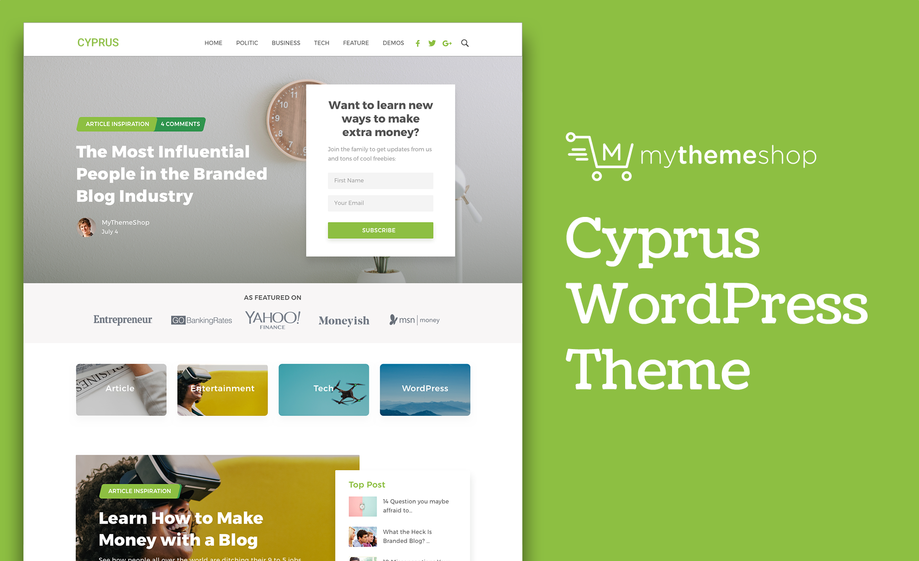 Download Mythemeshop Cyprus v1.0.18 Unique Premium WordPress Theme for Branded Websites
