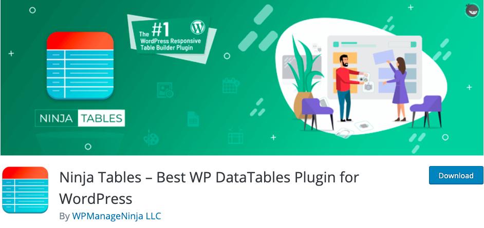 Ninja-Tables-Best-WP-Tables-Plugin