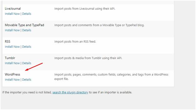 XML-Dateien importieren