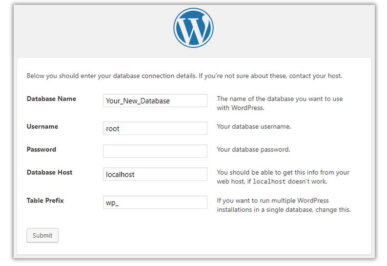 WP-configuration