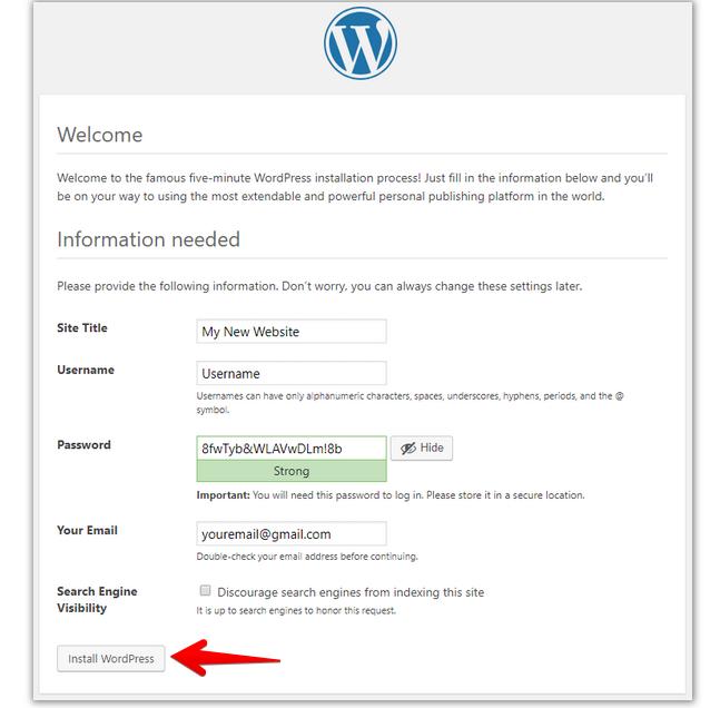 install-wordpress-on-wamp