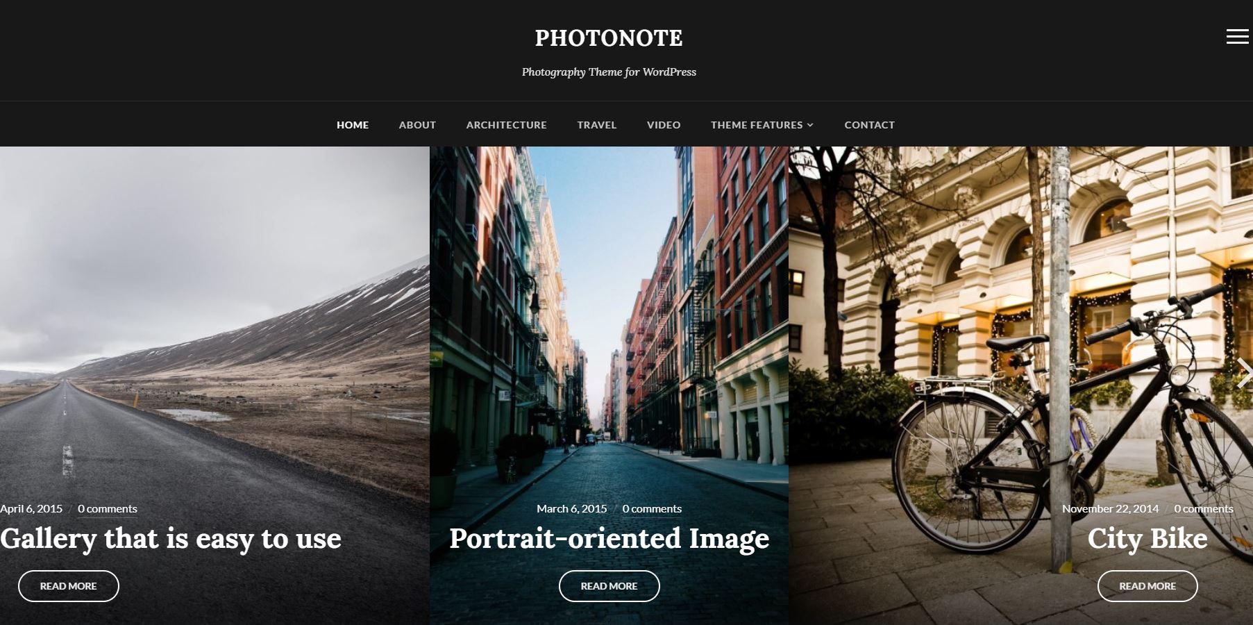PhotoNote Theme