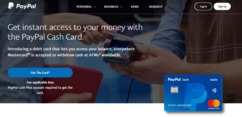paypalcashcard