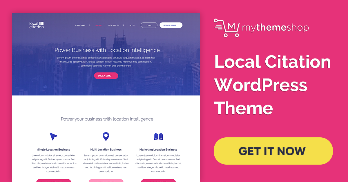 Download Local citation v1.0.7 Mythemeshop Perfect WordPress Theme for Local Businesses, Shops & Corporates