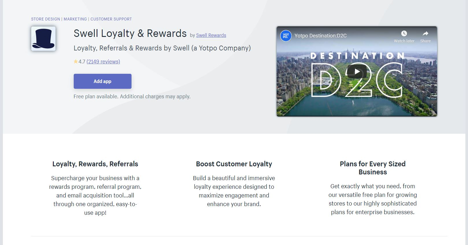 Rewards and Referrals by Swell