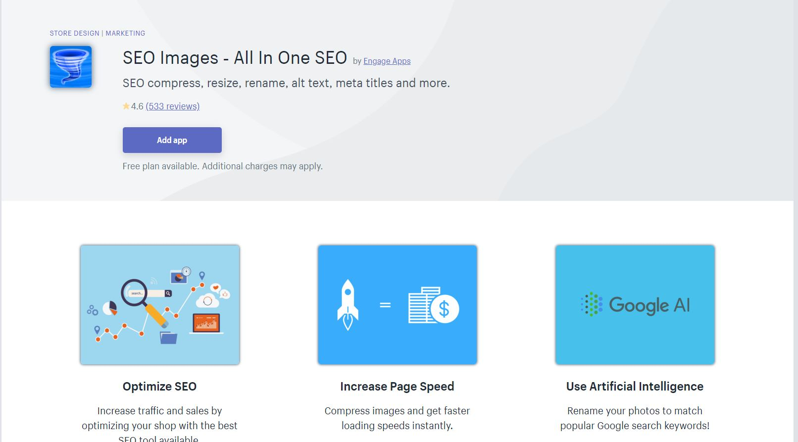 SEO Images All In One Shopify App