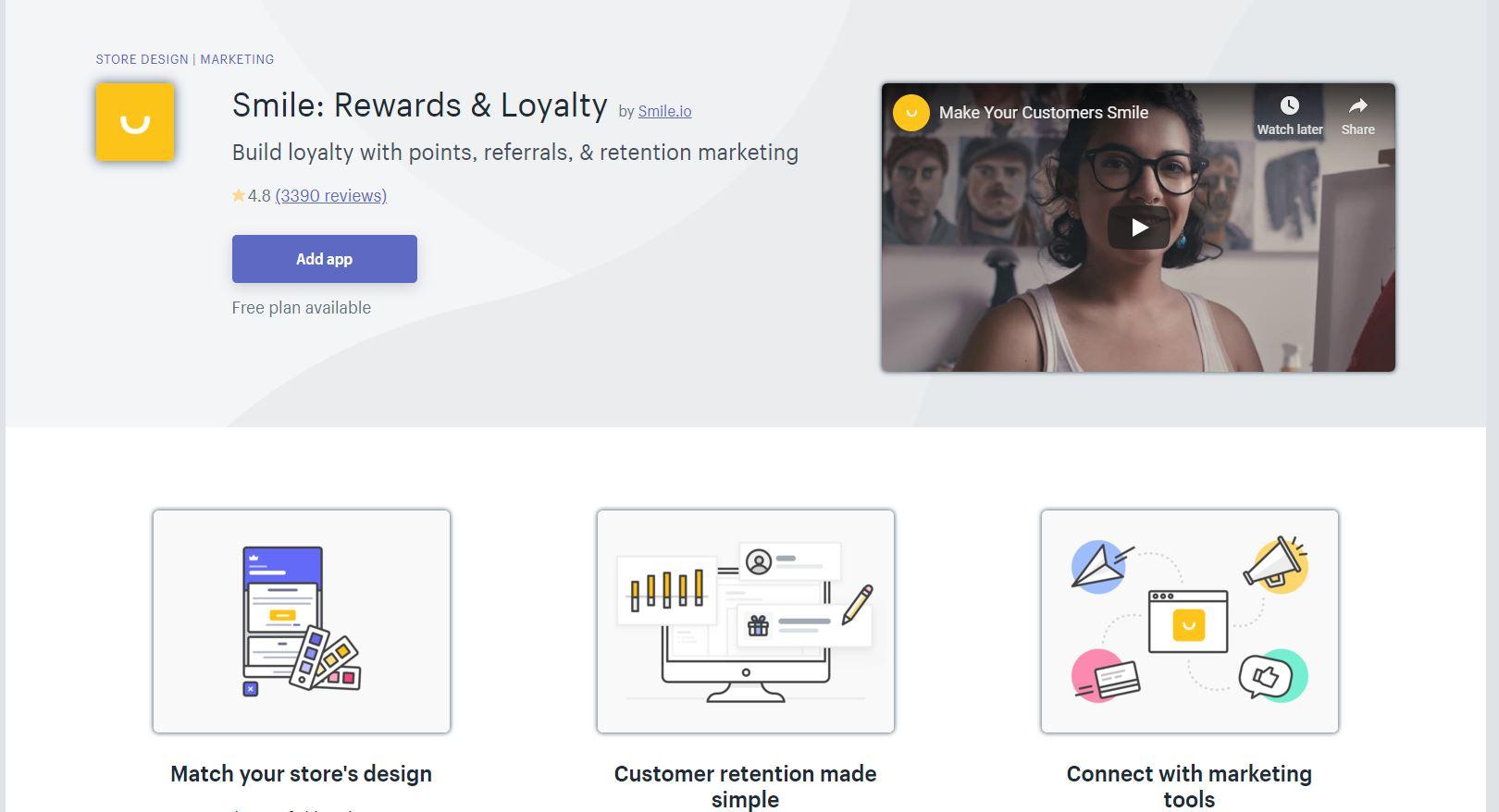 Smile.io Shopify App