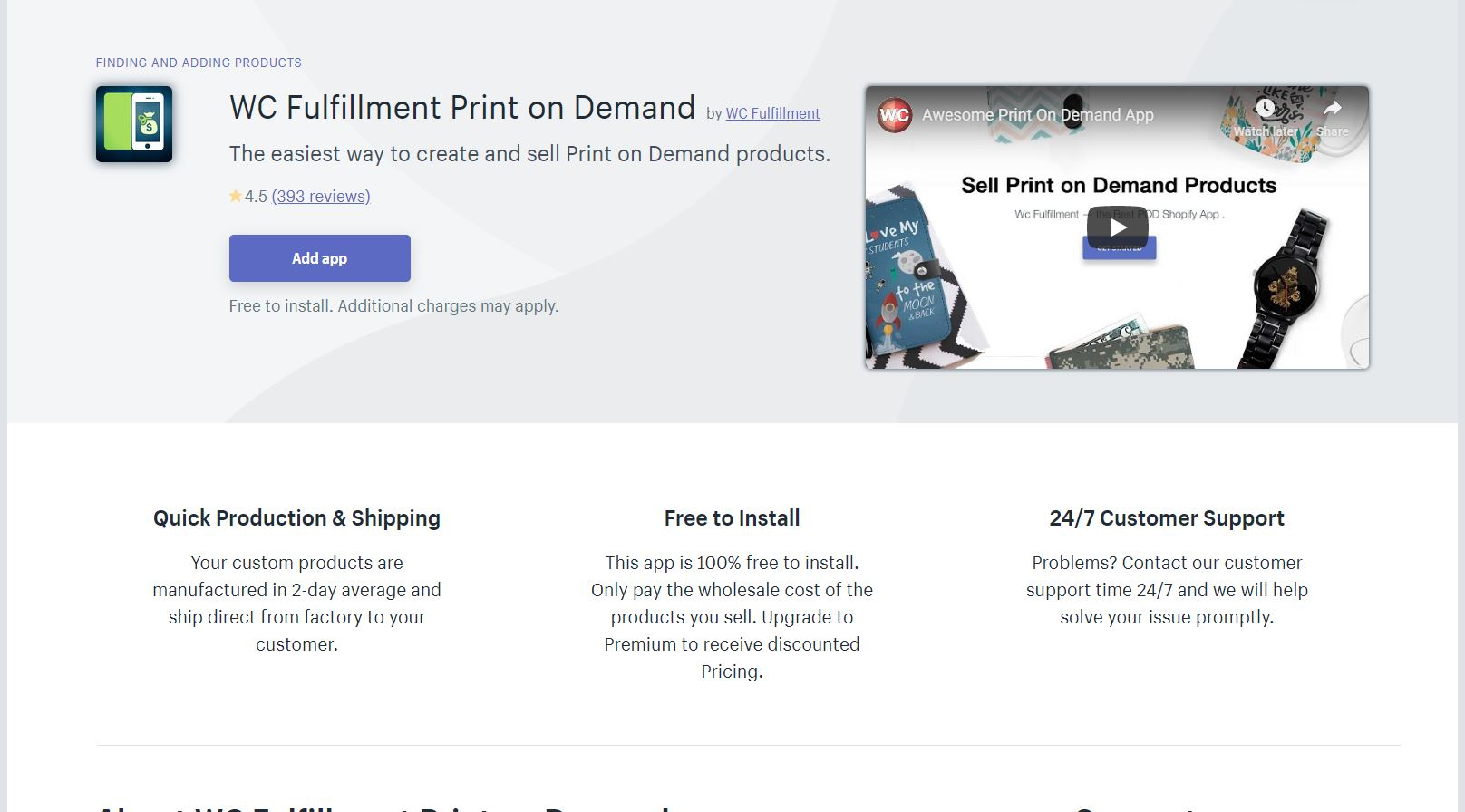 WC Fulfillment Shopify App