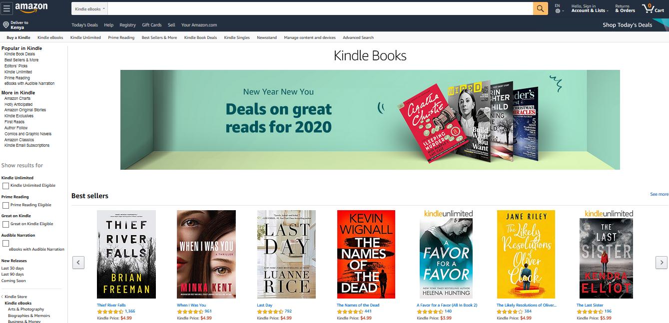 sell ebooks