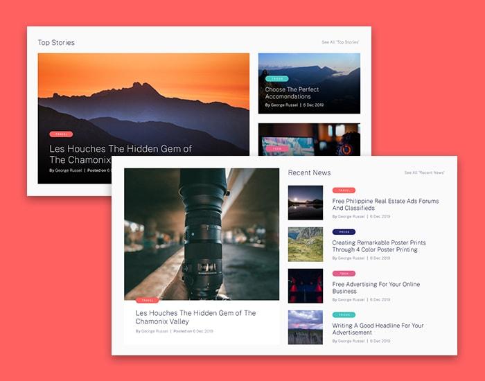 5 Blog Layouts