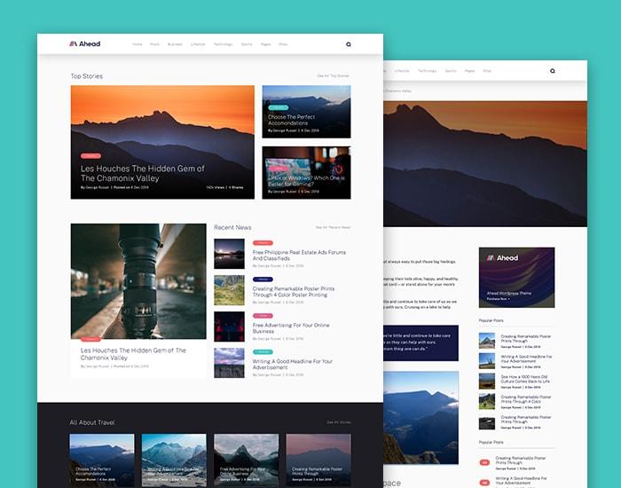 Blog and Magazine Design