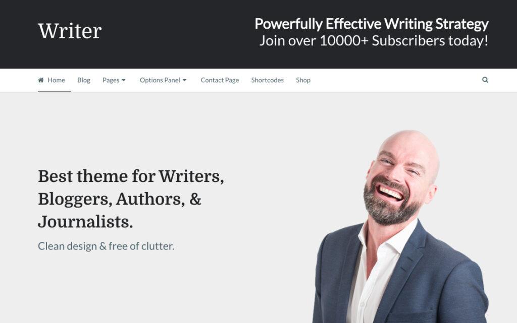 Writer-Theme
