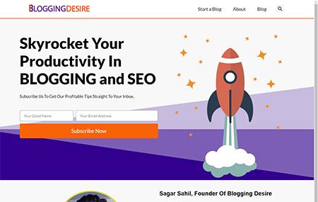 Blogging Desire