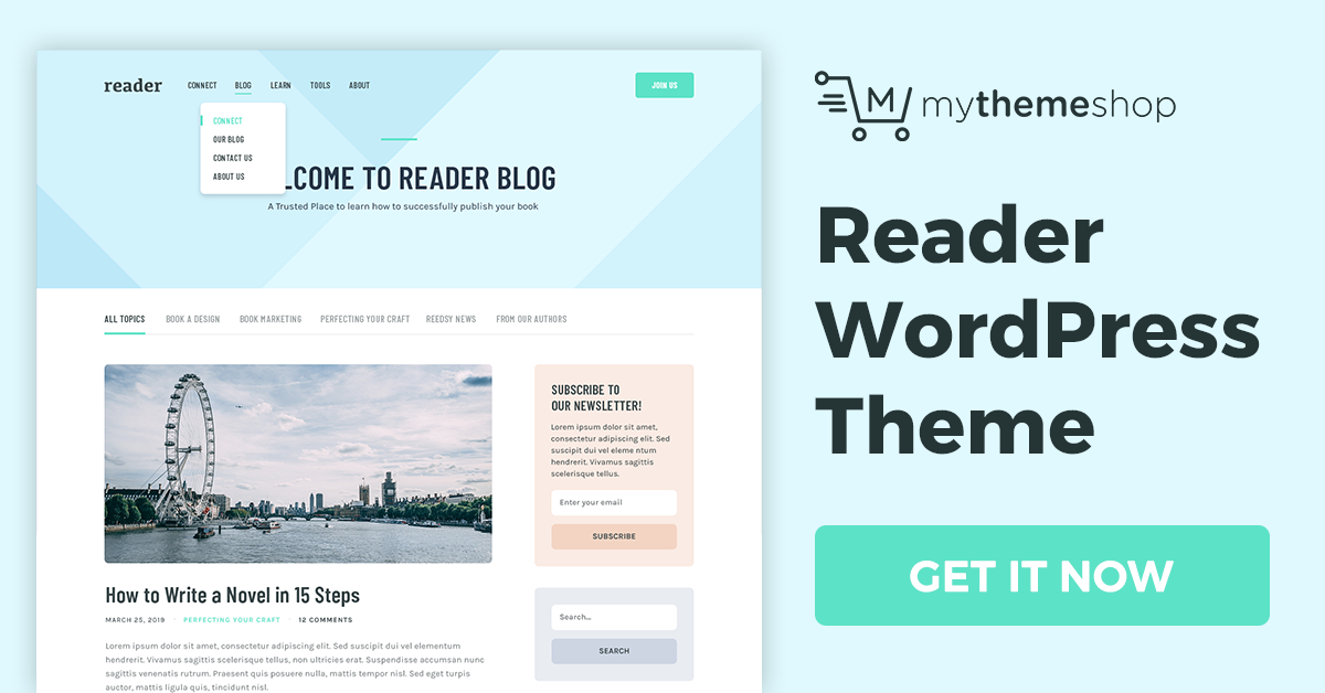 Reader v1.0.12 - Offering the Perfect Blend of Readability & Intuitiveness @ MyThemeShop