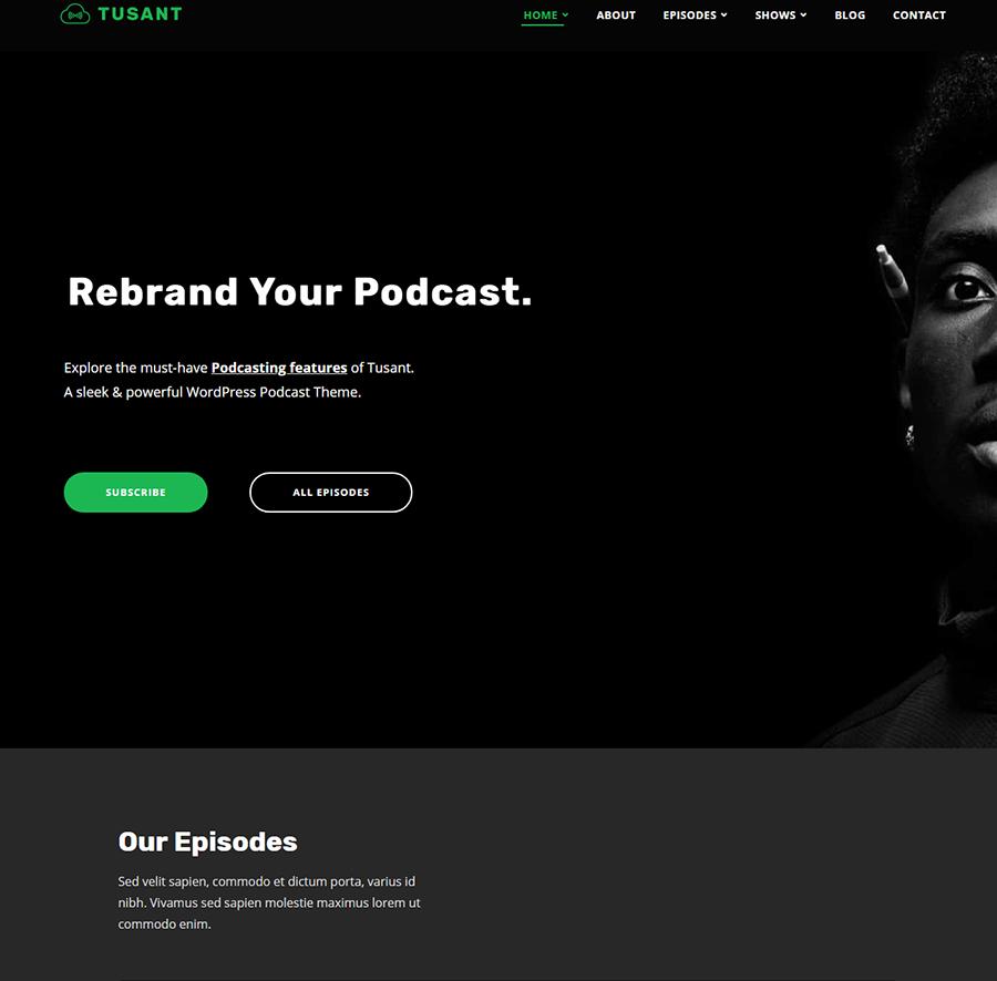 Tusant podcast theme
