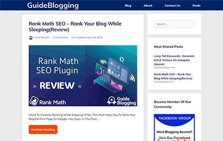 GuideBlogging