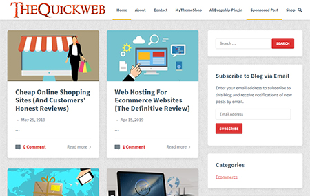 Thequickweb